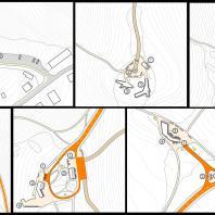 Архитектурно-планировочная концепция развития рекреационной инфраструктуры горы Комсомольская. г. Горно-Алтайск. ООО «ЗапСибНИИПроект 2»