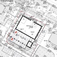 Проект сервисного центра с магазином товаров первой необходимости в Братске. ООО АПМ «Белый квадрат»