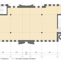 Реконструкция аварийного здания под мусульманский религиозный центр «14 святых» в Екатеринбурге. AM Mamedov+partners. Архитекторы: Мамедов А.М., Мосина Дарья