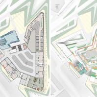 Проект многофункционального жилого комплекса в Баку. УрГАХУ. Архитекторы: Мамедов А.М., Громада В.В. (руководитель)