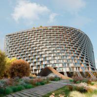 "Проект гостиничного комплекса ""Radisson Blu Moscow Riverside Hotel&Spa"". ООО Архитектурное бюро «Арх Групп»"