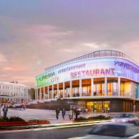 Концепция культурно-развлекательного центра во Владимире. ATP architects engineers
