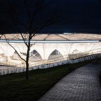 Концертно-эстрадный комплекс «Артек-Арена». Проектный институт «Арена». Международный детский центр «Артек», Гурзуф, Крым