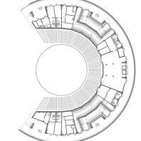 Концертно-эстрадный комплекс «Артек-Арена». Проектный институт «Арена». План