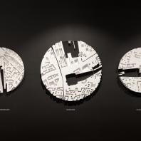 Зал ожидания Будущего. Архитектурное бюро «Горожане / Citizenstudio». Макеты мастерской Studio 911 Modelmaking