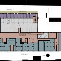 Жилой комплекс с элементами ко-ливинга «CO Loft» (Москва, ул. Серпуховский вал, д.7). Проект: DNK ag