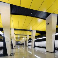 Участок Большой кольцевой линии Московского метрополитена. Станция «Шелепиха». Проектная организация: АО «Метрогипротранс»