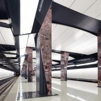 Участок Большой кольцевой линии Московского метрополитена. Станция «Хорошёвская». Проектная организация: АО «Метрогипротранс»