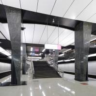 Участок Большой кольцевой линии Московского метрополитена. Станция «Петровский парк». Проектная организация: АО «Метрогипротранс»