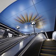 Участок Большой кольцевой линии Московского метрополитена. Станция «Савёловская». Проектная организация: АО «Метрогипротранс»