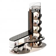Проект реконструкции водонапорной башни в Щербинке. IND architects