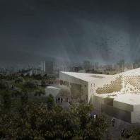 Проект Музея исламского искусства. Иран, Кум. Rawagh Architectural Studio, Mohsen Kheirmand Parizi