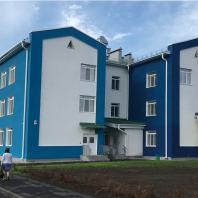 Детский сад в микрорайоне Подгорный г. Искитим, Новосибирская область. Проектирование: ООО «АкадемСтрой НСК»