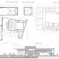 Проект Культурного центра им. В.Г. Короленко в Ижевске. Архитектурное бюро «CUBICA»