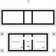 Проект двухэтажного деревянного дачного дома с подвалом, гаражем и баней. Архитектор Сергей Косинов. Новосибирск