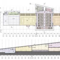 Проект Дворца спорта в жилом массиве Сихов, г. Львов, Украина. Архитектурная студия KUDIN architects