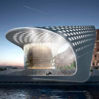 Архитектурно-градостроительная концепция «Квартал XXI века» в Иркутске. ЗАО «ГОРПРОЕКТ»