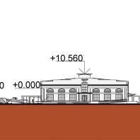 Архитектурно-градостроительная реставрация территории грузового речного порта в городе Волгоград. Автор проекта: Малай Е.А. 2020 г.