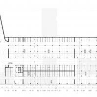 Проект жилого комплекса на набережной Ворошиловского района в г. Волгоград. Паркинг. Малай Р.С. 2020 г.