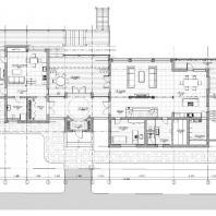 Проект загородного дома. Архитектурная мастерская METAarchitects. Архитектор Сарафанов Алексей
