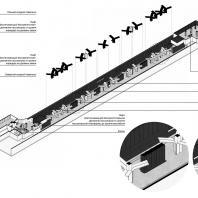 Проект станции московского метрополитена «Кленовый бульвар 2». Архитектурное бюро Blank Architects. 2020 г.