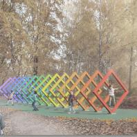 Парк оптических аттракционов в Красногорске. Архитектурное бюро YOarchitects