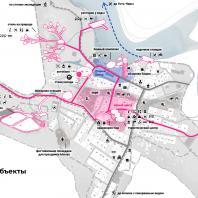 Концепция туристического кластера в с. Оймякон, Республика Саха (Якутия). Новые объекты на карте. BAZA14 и др.