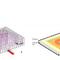Концепция туристического кластера в с. Оймякон, Республика Саха (Якутия). Оранжерея-бар. BAZA14 и др.