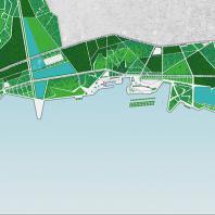 Planting the City. Регенерация промышленной прибрежной морской зоны города Баку под общественные пространства. Pierre-François Le Jeanne