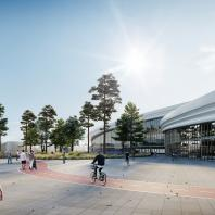 Мастер-план территории, прилегающей к стадиону «Самара Арена». Консорциум под лидерством Aurora Group