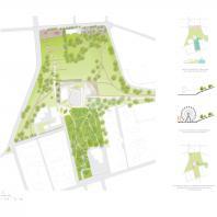 Проект концертного зала Tauras в Вильнюсе | Генплан | Orange architects, 2019