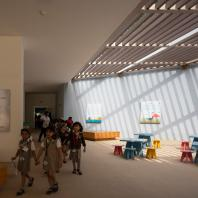 Информационный центр в национальном парке Wazit, Шарджа, ОАЭ. X-Architects