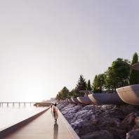 Концепция благоустройства набережной «Лунный берег» в Махачкале. ООО «АБТБ»