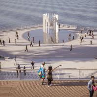 Концепция благоустройства набережной «Лунный берег» в Махачкале. Консорциум под лидерством ООО «МЭГЛИ Проект»