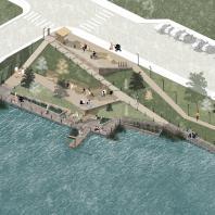 Концепция благоустройства территории, прилегающей к озеру в районе ул. Хандадаша Тагиева в Дербенте. Консорциум под лидерством ООО «Студия Камиль Цунтаев»