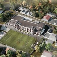 Конкурсный типовой проект общеобразовательной школы на 50 мест в с. Манасаул Буйнакского района Дагестана. IND architects