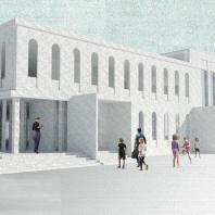 Конкурсный типовой проект общеобразовательной школы на 50 мест в с. Манасаул Буйнакского района Дагестана. ООО «АРСТ»