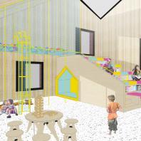Конкурсный типовой проект детского сада на 40 мест в с. Цергимахи Акушинского района Дагестана. ООО «Проектное бюро АПЕКС»