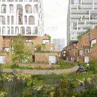 Проект реконструкции района ZOHO в Роттердаме. Orange Architects, ECHO urban design, More Architecture, Studio Nauta и Moederscheim Moonen Architects