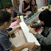 «Мой Двор». Реконструкция дворового пространства в рамках городской программы «Комфортное жилье» г. Магнитогорск. Детская школа архитектуры и дизайна IVANDI