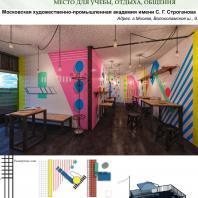 Конкурсный проект «Оформление рекреационных зон отдыха в университете». 2018 г. Код проекта: 010196