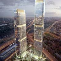 Метрополис   Многофункциональный комплекс «NEVA Towers»