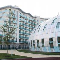Архитектурное бюро «Студия 44»   Спортивный комплекс Образовательного центра для одаренных детей «Сириус»