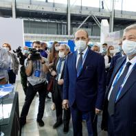 Первый день VII Международного форума и выставки 100+ TechnoBuild (Екатеринбург - 20.10.2020)