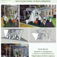 Конкурсный проект «Оформление рекреационных зон отдыха в университете». 2018 г. Код проекта: 240598