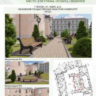 Конкурсный проект «Оформление рекреационных зон отдыха в университете». 2018 г. Код проекта: 280198