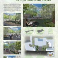 Конкурсный проект «Оформление рекреационных зон отдыха в университете». 2018 г. Код проекта: 536421