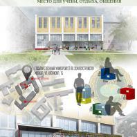 Конкурсный проект «Оформление рекреационных зон отдыха в университете». 2018 г. Код проекта: 551994