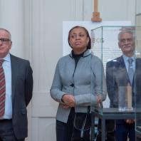 г-н Смаил АЛЛАУА - Посол Алжирской Народной Демократической Республики и г-жа Лесли Ача ОПОКУ-ВАРИПосол Республики Гана