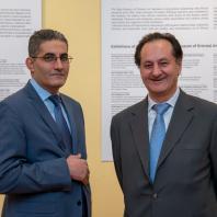 Президент Ассоциации бизнесменов и инвесторов «Группа Международного делового сотрудничества»г-н Иссама Абу-Исса